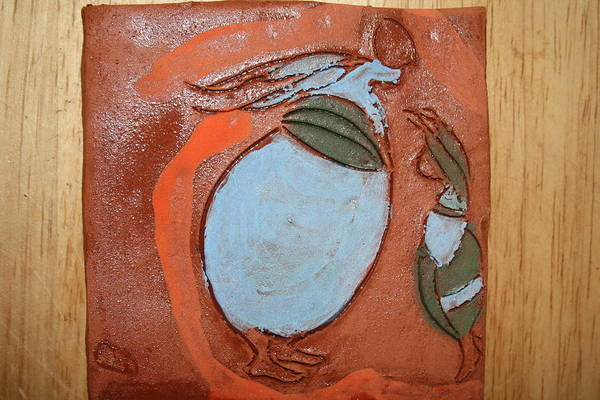 Ceramic Art - Echoing - Tile by Gloria Ssali