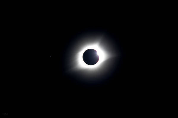 Photograph - Eclipse 2017 by Ross Henton