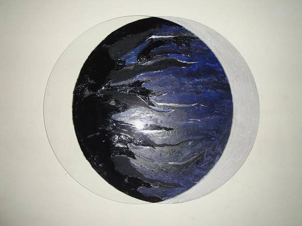Eclipse Mixed Media - Eclipse by Angeli DiLucca