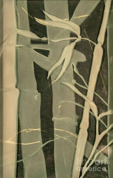 Glass Art - Eclipse Bamboo by Alone Larsen