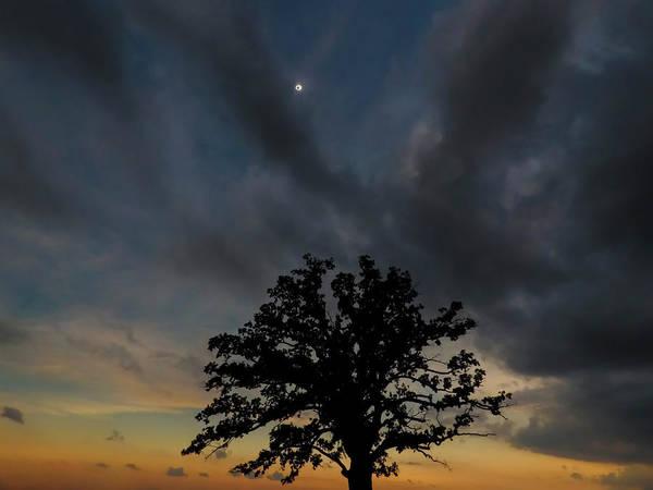 Photograph - Eclipse Sunset by Ryan Heffron