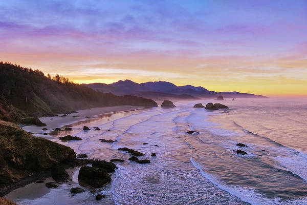 Sandy Point State Park Photograph - Ecola Point Sunrise by Greg Vaughn