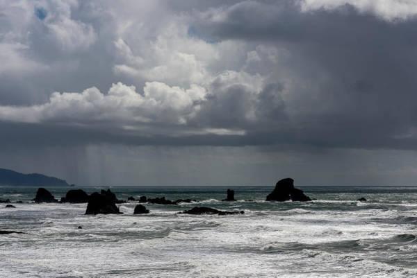 Photograph - Ecola Rain by Robert Potts