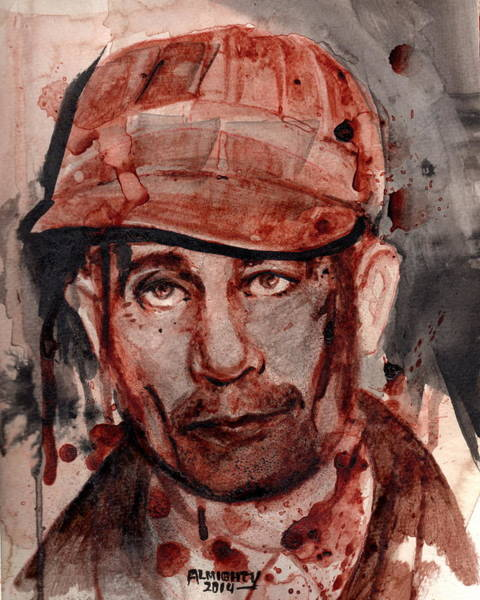 It Professional Painting - Ed Gein by Ryan Almighty
