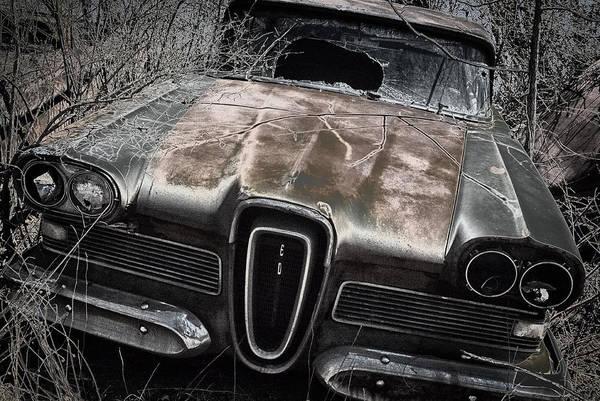 Junkyard Photograph - ED by Robert Fawcett