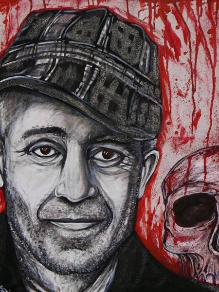 Serial Killer Painting - Ed  by Sam Hane