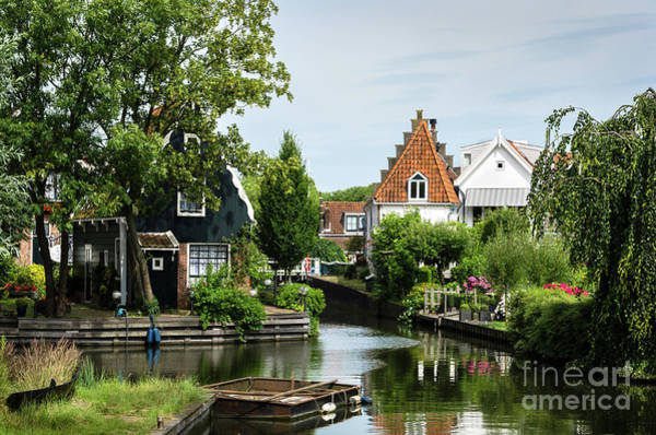 Photograph - Edam Canals by RicardMN Photography