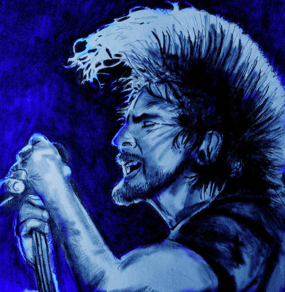 Versus Digital Art - Eddie Vedder Blue Moon Finish by Soma79