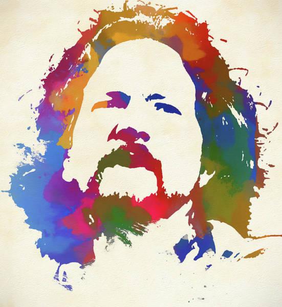 Pearl Jam Painting - Eddie Vedder by Dan Sproul