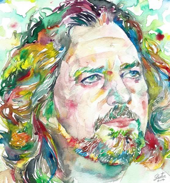 Pearl Jam Painting - Eddie Vedder by Fabrizio Cassetta