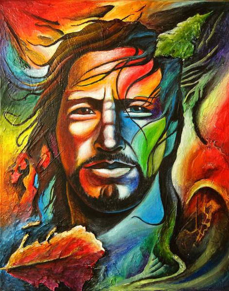Pearl Jam Painting - Eddie Vedder by Robert Stokley