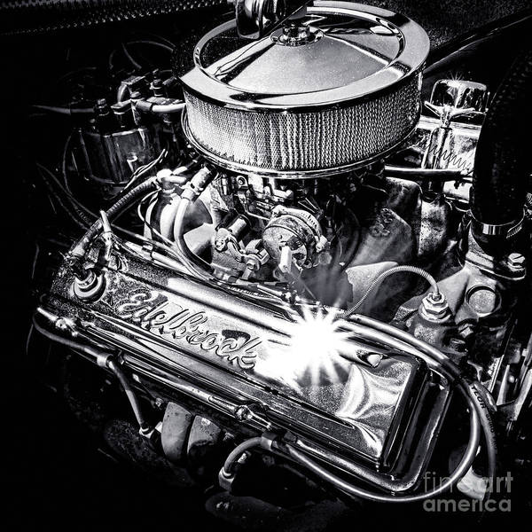 V8 Engine Wall Art - Photograph - Edelbrock Rules by Olivier Le Queinec