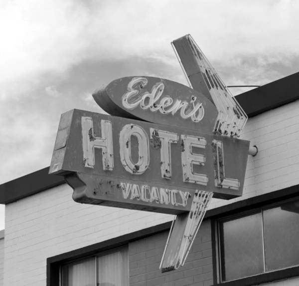 Wall Art - Photograph - Eden's Hotel Las Vegas 1950s by David Lee Thompson