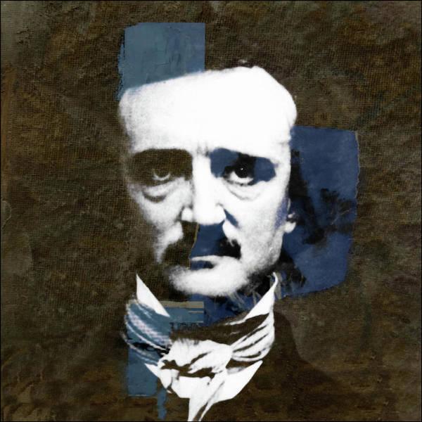 Edgar Wall Art - Mixed Media - Edgar Allan Poe  by Paul Lovering