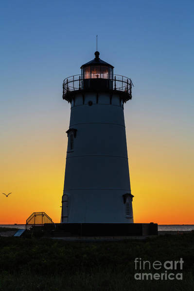 Wall Art - Photograph - Edgartown Harbor Light Sunrise IIi by Clarence Holmes