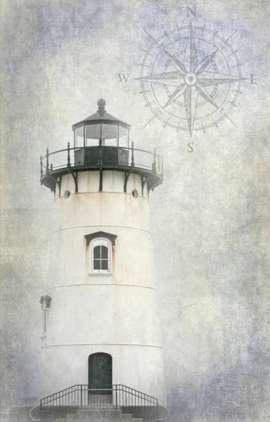 Wall Art - Photograph - Edgartown Light by Bill Wakeley