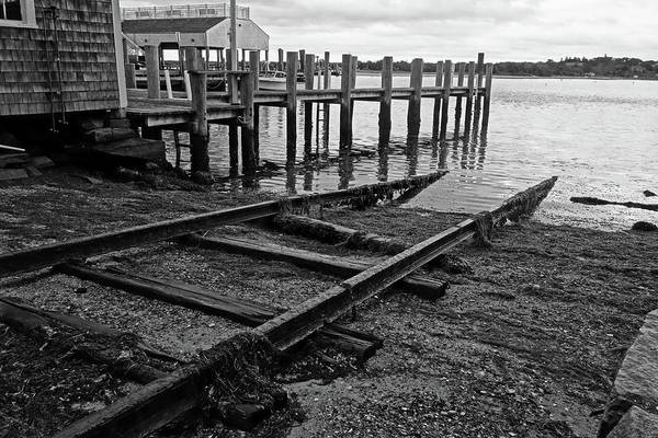 Photograph - Edgartown Ma Tracks To The Sea Martha's Vineyard Cape Cod by Toby McGuire