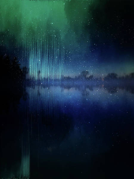 Painting - Edge Of Reality by Christina VanGinkel
