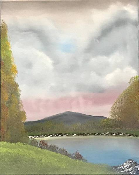 Wall Art - Painting - Edge Of The Pond by Willy Proctor