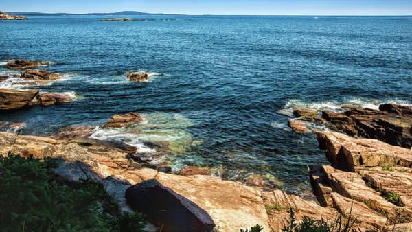Photograph - Edge Of The Sea by John M Bailey
