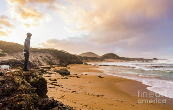 Guy Photograph - Edge Of Western Shores by Jorgo Photography - Wall Art Gallery