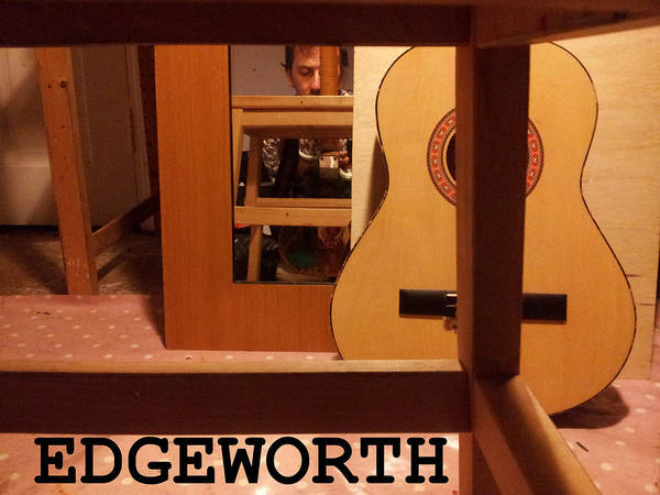 Photograph - Edgeworth Acoustic Guitar by Artist Dot