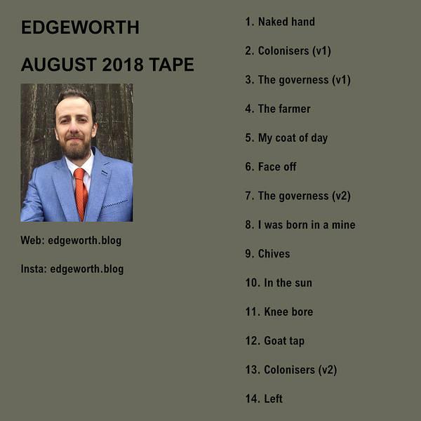 Digital Art - Edgeworth - August 2018 Tape Cover by Artist Dot