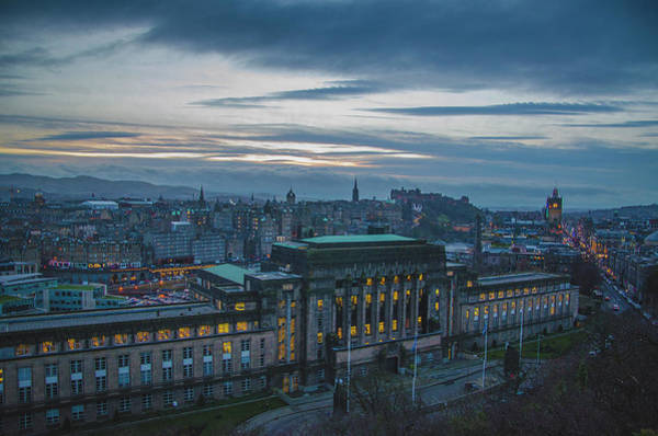Photograph - Edinburgh At Sunset by Edyta K Photography