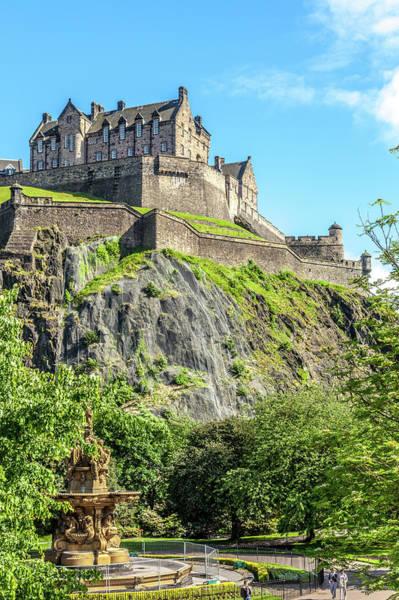 Edinburgh Photograph - Edinburgh Castle 1 by W Chris Fooshee