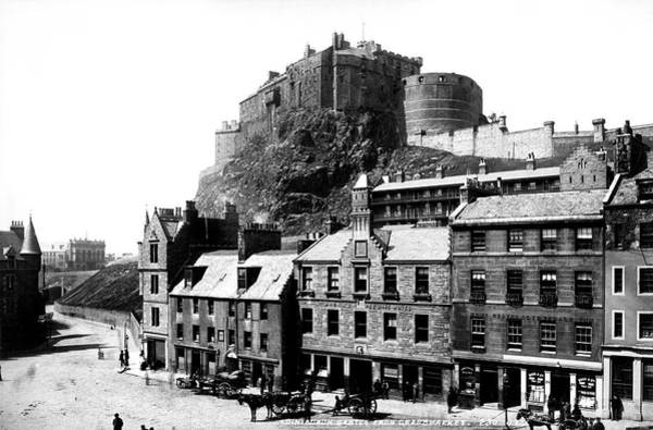 Photograph - Edinburgh Castle by Lee Santa