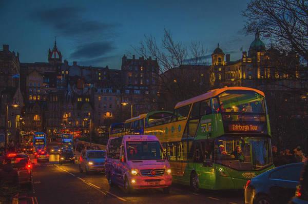 Photograph - Edinburgh - City Of Lights II by Edyta K Photography
