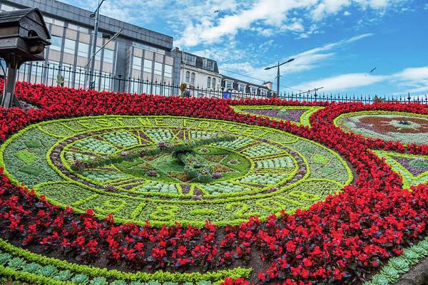 Nature Wall Art - Photograph - Edinburgh Floral Clock by Iordanis Pallikaras