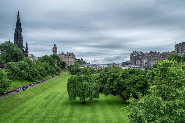 Photograph - Edinburgh by Jeremy Lavender Photography