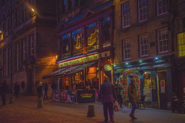 Photograph - Edinburgh - Night Life by Edyta K Photography