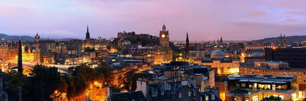 Photograph - Edinburgh Night by Songquan Deng