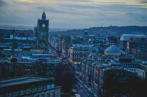 Photograph - Edinburgh - Princes Street by Edyta K Photography