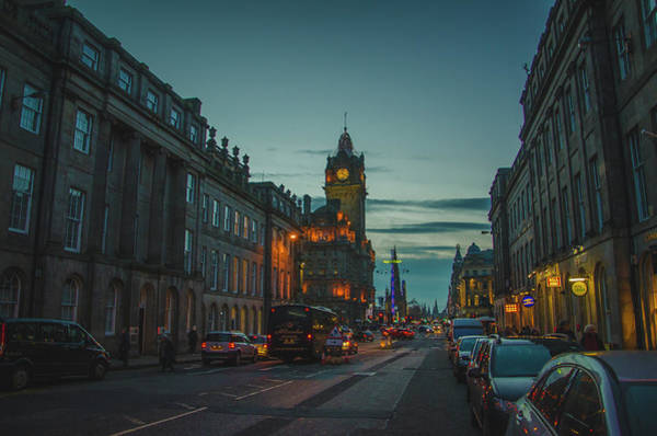 Photograph - Edinburgh - Princess Street by Edyta K Photography