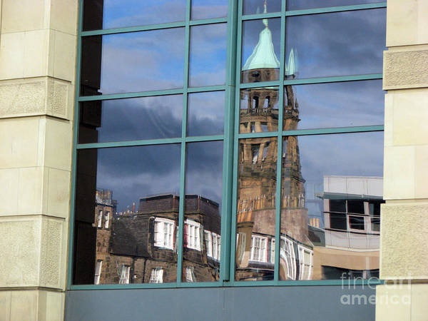 Wall Art - Photograph - Edinburgh Self Interpreted  by Amanda Barcon