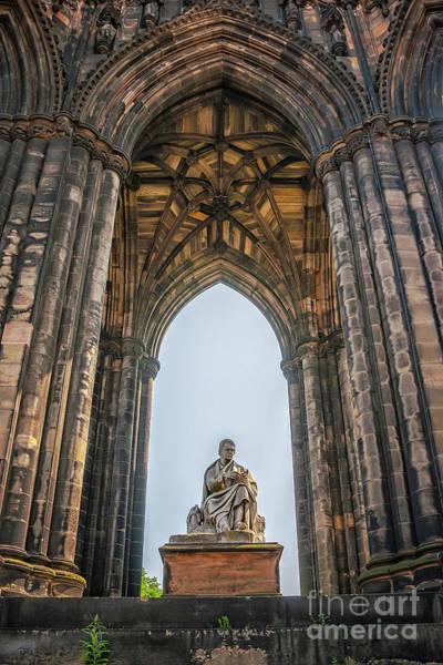 Wall Art - Photograph - Edinburgh Sir Walter Scott Monument by Antony McAulay