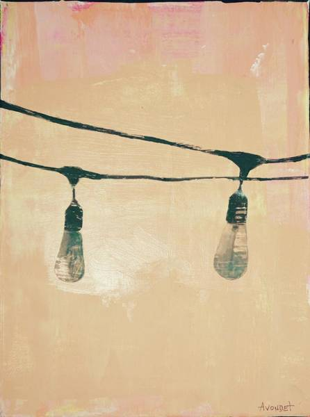 Avondet Wall Art - Mixed Media - Edison II by Natalie Avondet