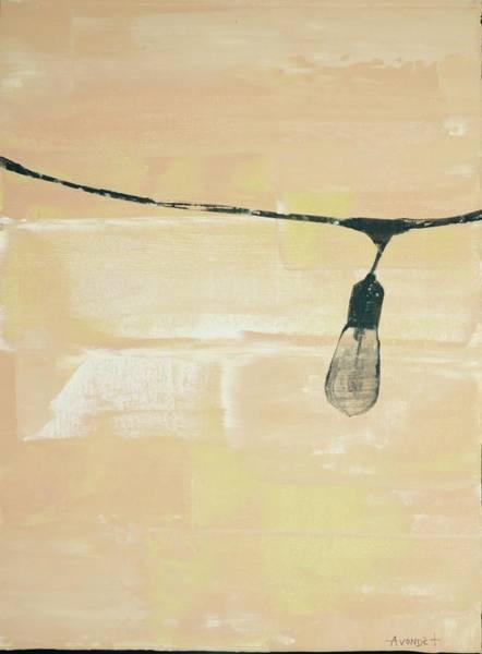 Avondet Wall Art - Mixed Media - Edison by Natalie Avondet
