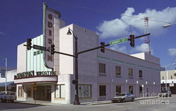 Photograph - Edison Theater  by Richard Nickson