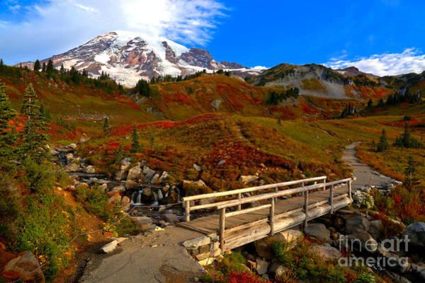 Photograph - Edith Creek Bridge Landscape by Adam Jewell