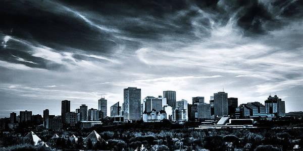 Ian Macdonald Photograph - Edmonton Skyline by Ian MacDonald
