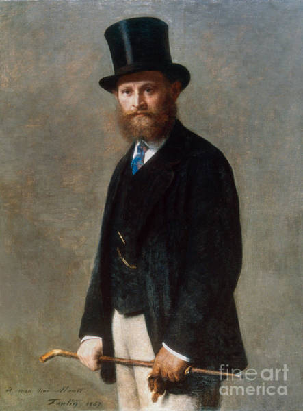Manet Wall Art - Photograph - Edouard Manet (1832-1883) by Granger