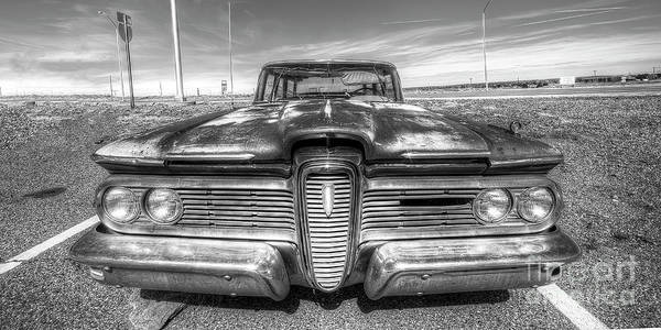 Edsel Photograph - Edsel Along Route 66 by Twenty Two North Photography