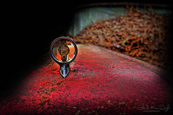Photograph - Edsel Emblem by Glenda Wright