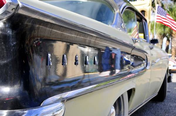 Antic Photograph - Edsel On Parade by David Lee Thompson