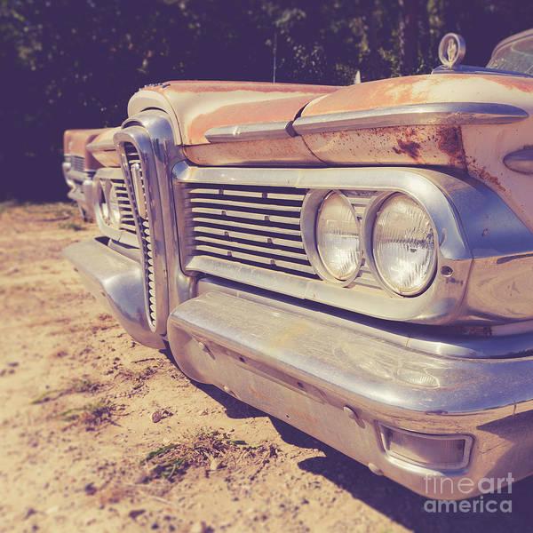 Junkyard Photograph - Edsel Ranger Vintage Junkyard Car Utah by Edward Fielding