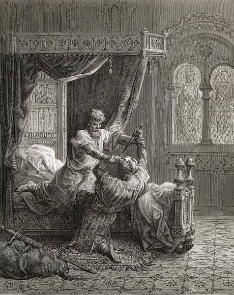 Wall Art - Drawing - Edward I Of England 1239 To 1307 Kills by Vintage Design Pics